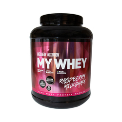 Wellness Nutrition My Whey, Raspberry Milkshake