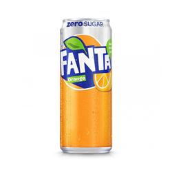 Coca-Cola Company Fanta Orange ZERO