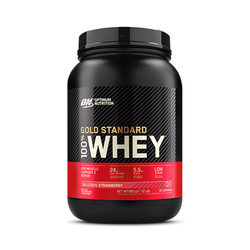 Optimum Nutrition 100% Whey Gold Standard, Delicious Strawberry