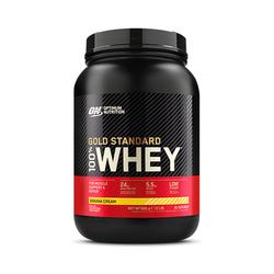 Optimum Nutrition 100% Whey Gold Standard, Banana Créme
