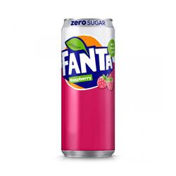 Coca-Cola Company Fanta Raspberry Zero