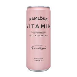 Ramlösa Funktionsvatten Vitamin, Granatäpple