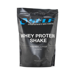 Self Omninutrition Whey Protein Shake Strawberry