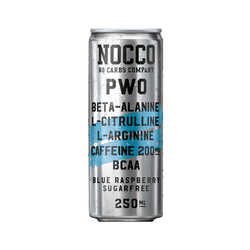 Nocco PWO Blue Raspberry