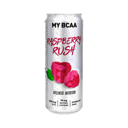 Wellness Nutrition My BCAA Raspberry Rush